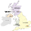 Geographical Map & Site-Map: Dorset