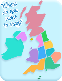 Where else did you want to stay? Use this map to explore coastal British Isles, Isle Of Man & Ireland by holiday region.