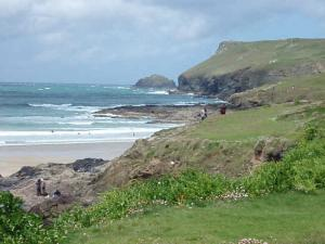 PENTIRE POINT POLZEATH IT IS SAID THAT THOSE WHO HAVE NOT VIEWED PENTIRE HAVE MISSED THE EIGHTH WONDER OF THE WORLD