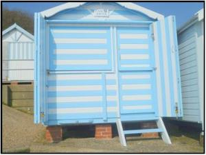 Picture of BEACH HUT 380 FRONT ROW