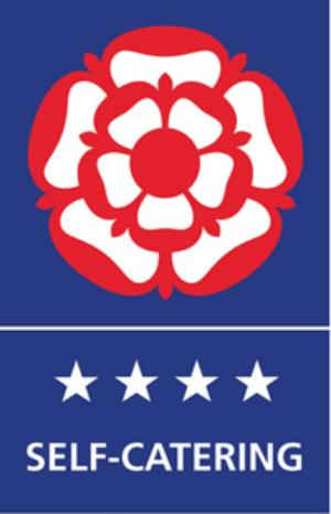 VisitBritain 4 Star Self Catering grade logo